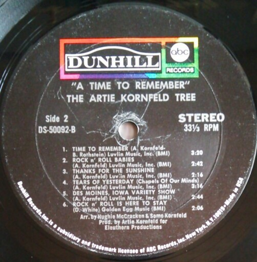 SSW サイケ/フォーク/スワンプ ARTIE KORNFELD TREE / A TIME TO REMEMBER! 米盤中古レコード NEIL YOUNG HELPLESSカバー_画像5