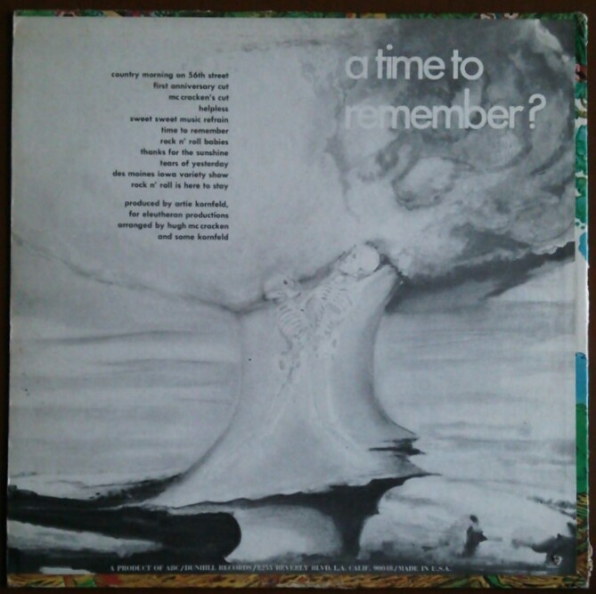 SSW サイケ/フォーク/スワンプ ARTIE KORNFELD TREE / A TIME TO REMEMBER! 米盤中古レコード NEIL YOUNG HELPLESSカバー_画像2