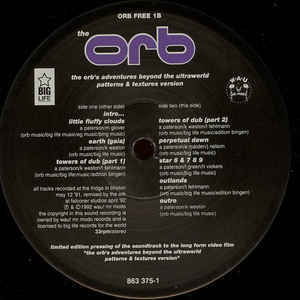 アンビエント大名盤!!レア緑ソフトケースの完全初回限定盤!! The Orb U.F.Orb 2枚組+ライヴ音源12インチ_画像6