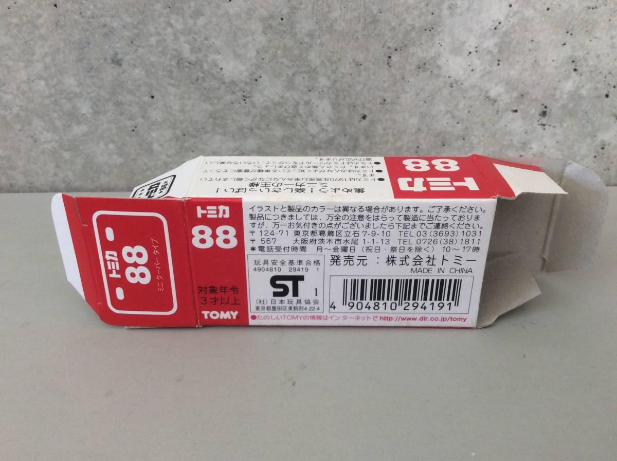 空箱だけ トミカ 88 ミニクーパータイプ MINI COOPER TYPE TOMY_画像3