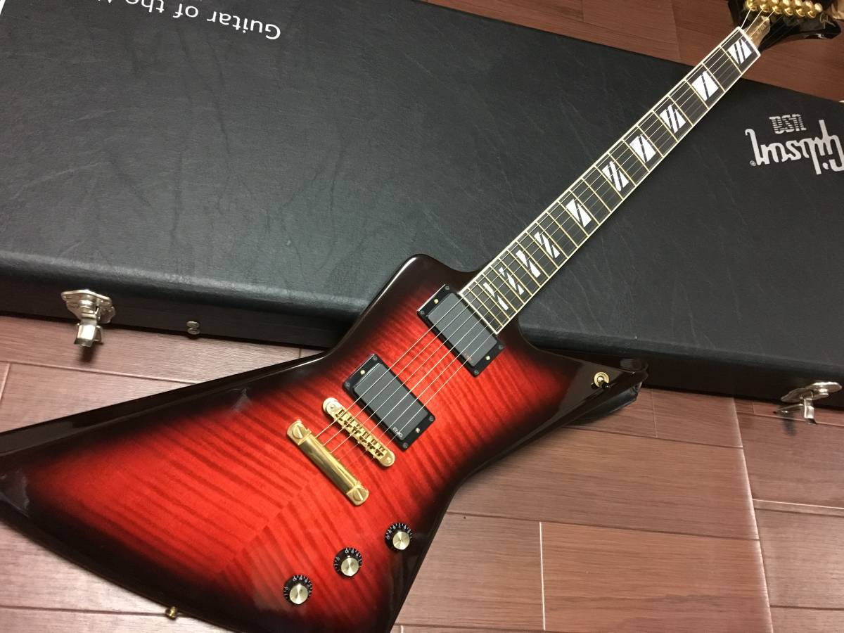 ★Gibson Guitar of the month 50周年記念 Explorer EMG81 89 改★