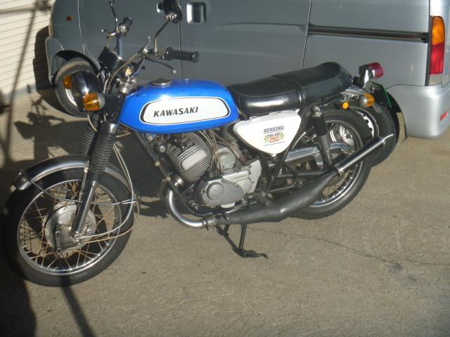 カワサキ A1サムライ 250SS 当時物 希少車
