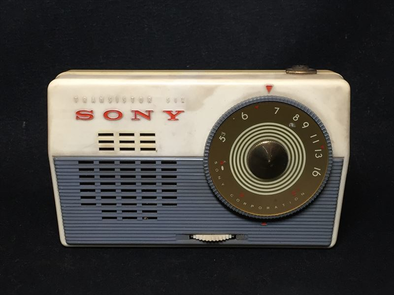 SONY ソニー TR-62 トランジスタラジオ 昭和レトロ ジャンク_画像2