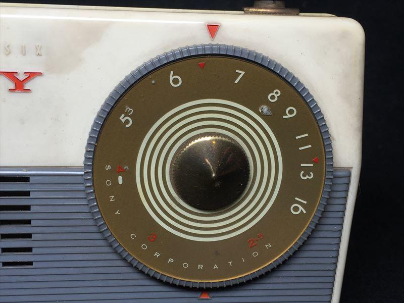 SONY ソニー TR-62 トランジスタラジオ 昭和レトロ ジャンク_画像5