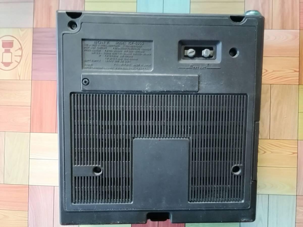 ☆送料無料◆SONY ソニー ICF-5900(前期型)◆ジャンク・要修理品_画像3