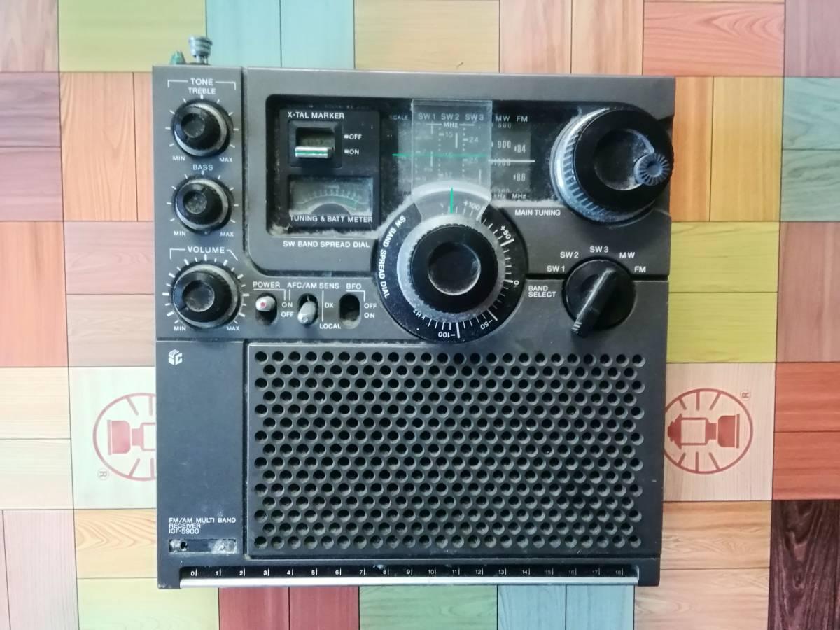 ☆送料無料◆SONY ソニー ICF-5900(前期型)◆ジャンク・要修理品_画像5
