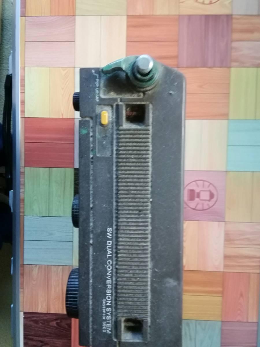 ☆送料無料◆SONY ソニー ICF-5900(前期型)◆ジャンク・要修理品_画像2
