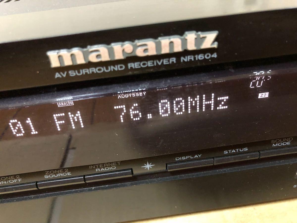 中古 Marantz マランツ NR1604 AV アンプ サラウンドレシーバー _画像2