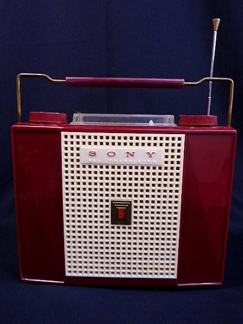 a1529 ヴィンテージ ソニー SONY MODEL TR-74 アンティーク トランジスタラジオ ジャンク扱い
