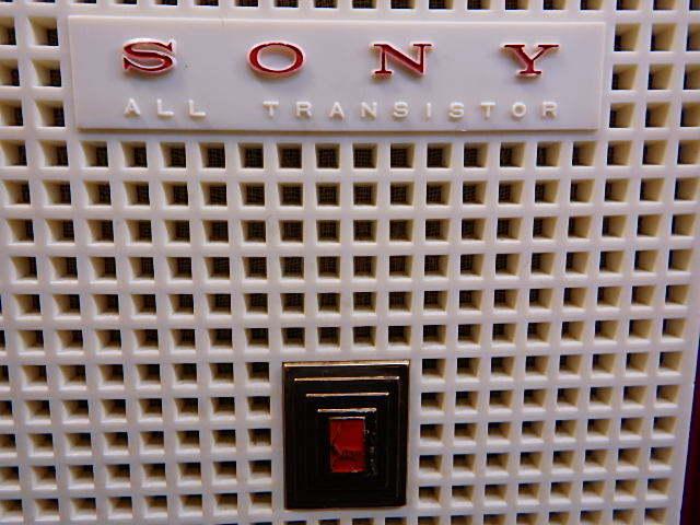 a1529 ヴィンテージ ソニー SONY MODEL TR-74 アンティーク トランジスタラジオ ジャンク扱い_画像3