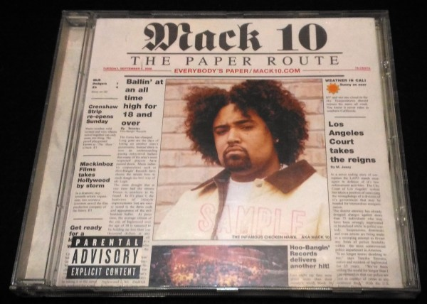 Mack 10/The Paper Route★G-RAP Ice Cube T-Boz Too Short マック10_画像1