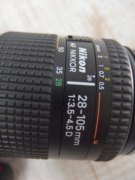 ■c25a Nikon ニコン 一眼レフカメラ F100 28-105mm f=1:3.5-4.5D_画像7