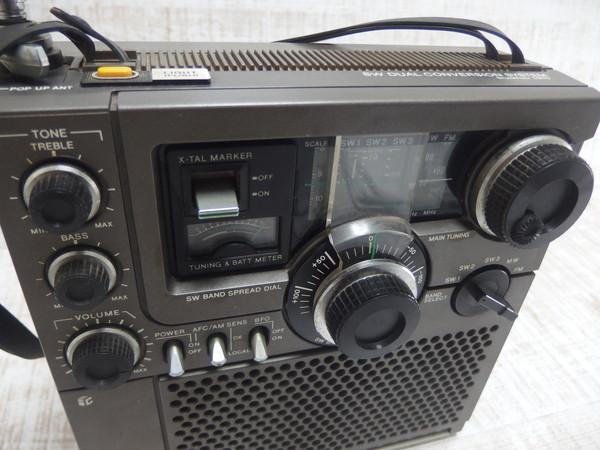 ■c19c SONY ソニー スカイセンサー ICF-5900 BCLラジオ 5バンド_画像4