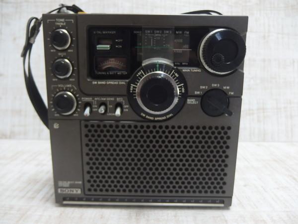 ■c19c SONY ソニー スカイセンサー ICF-5900 BCLラジオ 5バンド_画像2