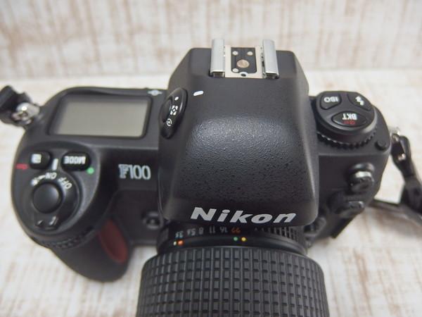■c25a Nikon ニコン 一眼レフカメラ F100 28-105mm f=1:3.5-4.5D_画像3