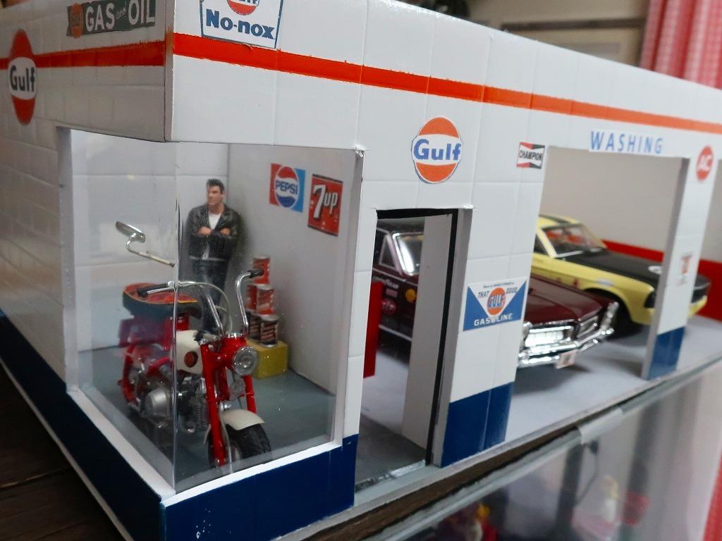 超レア★非売品 1/18 アメ車用 ジオラマガレージ 世田谷ベース的ガレージングが楽しめます