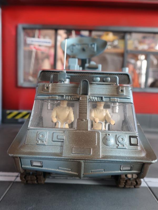 超レア★新世紀合金 謎の円盤UFO シャドーコントロール SHADO ジェリーアンダーソン 塗装済完成品 シャドーモービル ムーンベース_画像6