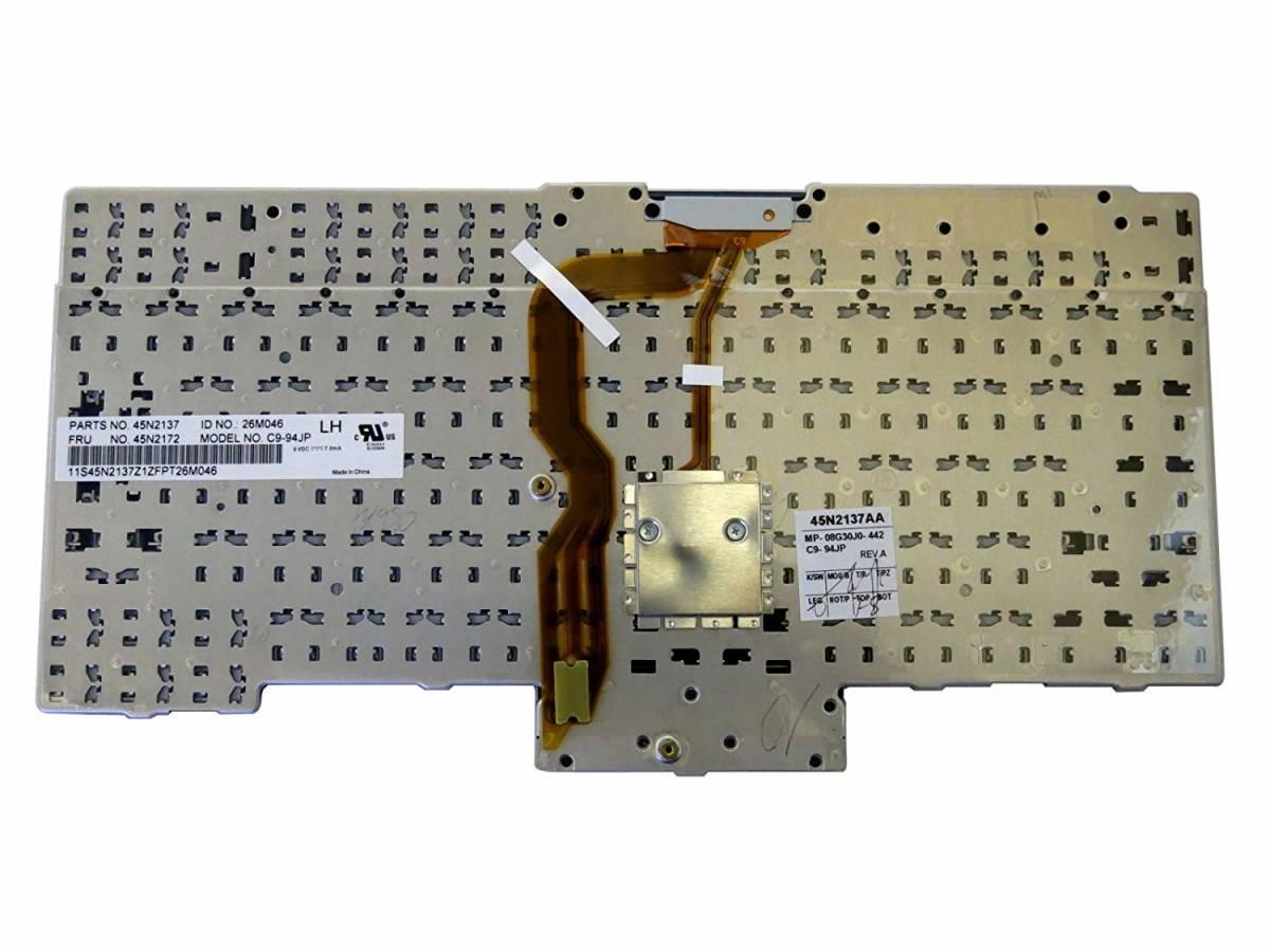 新品 Lenovo/IBM ThinkPad X220 X220t/i T400s T410 T410i/s T410SI T420s/i/SI T510i T520i W510 W520 日本語キーボード 黒_画像2
