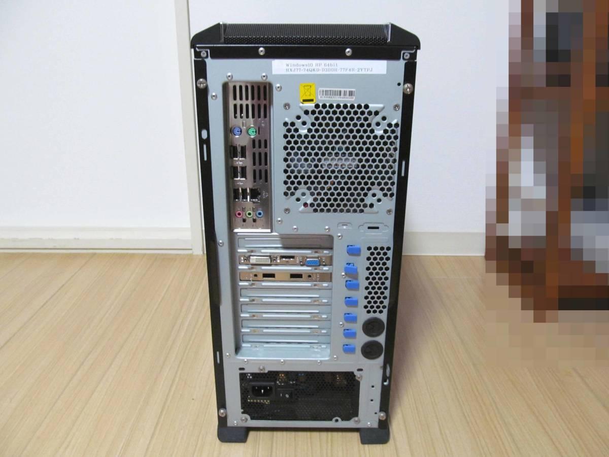 自作PC Core i7/2.8GHz/1TB/8GB/DVDマルチ×2/Windows10★USED現状渡し品★_画像9