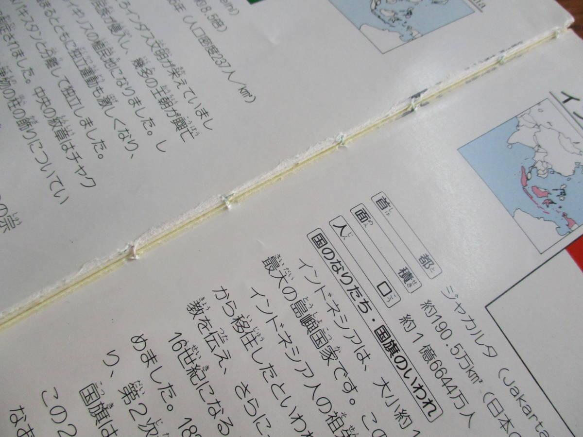 送料送198円森重民造著世界の国旗_画像5