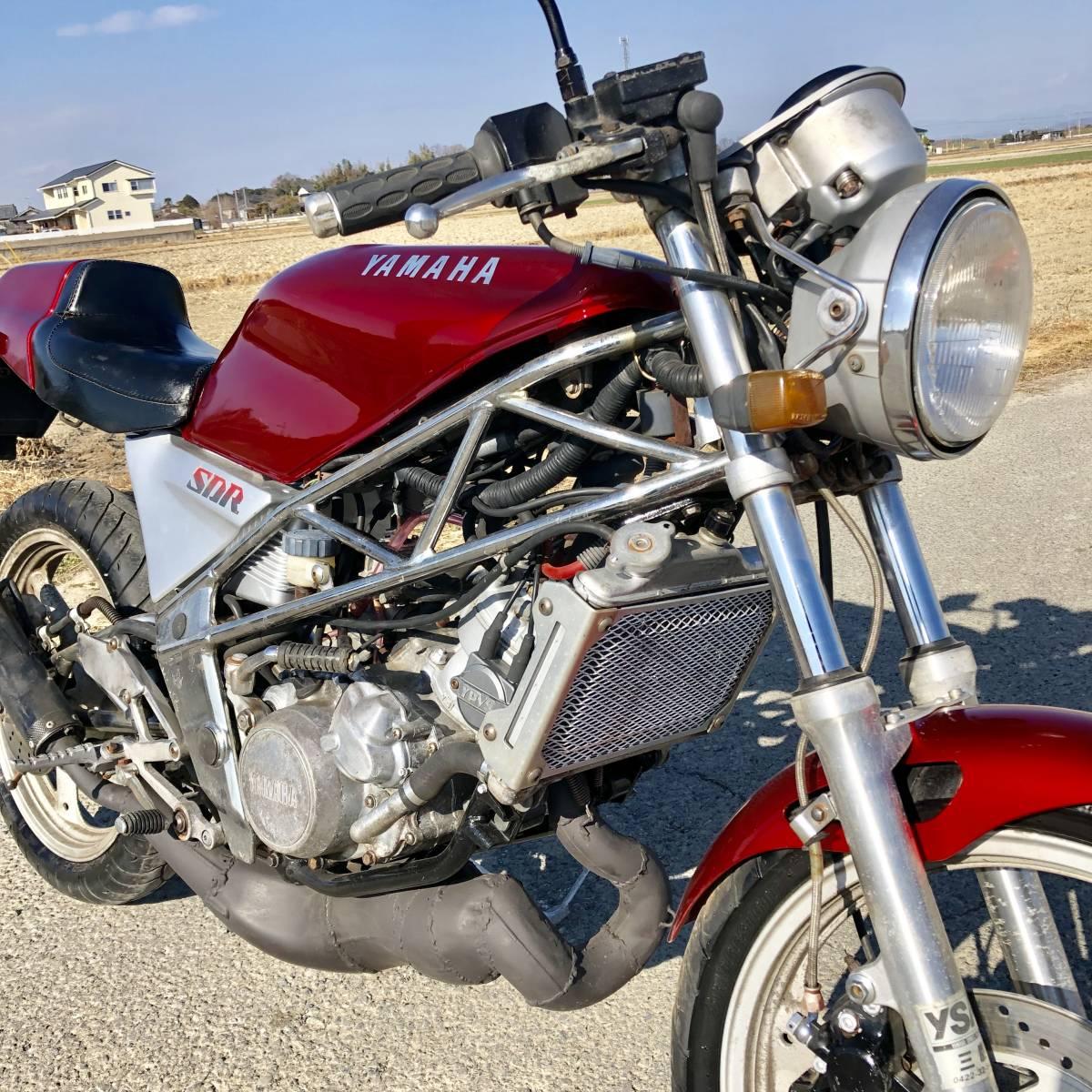 ヤマハSDR200 好調 2スト人気 改 希 少売り切り ホンダスズキカワサキ検)NS TZ MVX VT FW FZR RG R1Z CBR RZ GT NSR TS KR_画像8