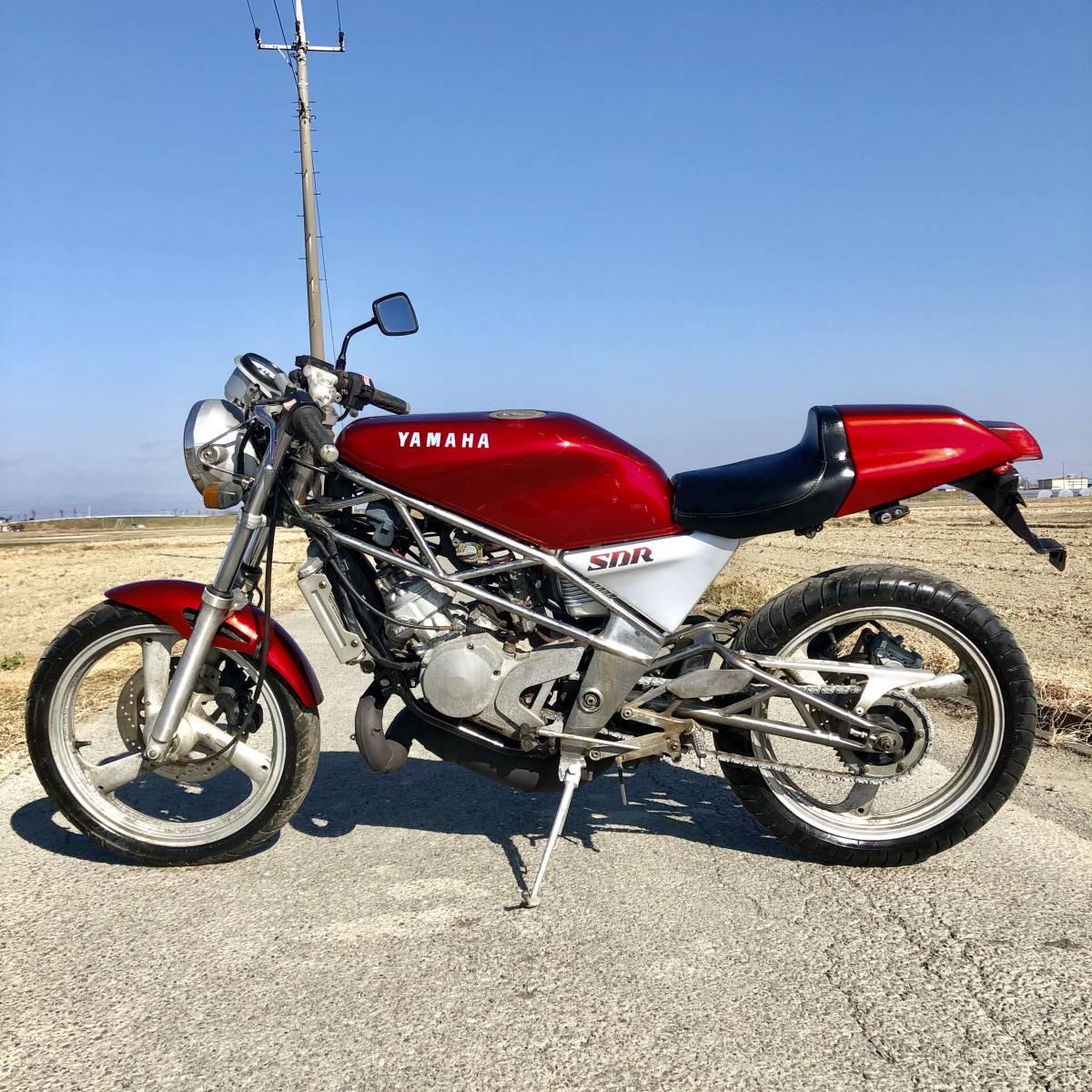 ヤマハSDR200 好調 2スト人気 改 希 少売り切り ホンダスズキカワサキ検)NS TZ MVX VT FW FZR RG R1Z CBR RZ GT NSR TS KR_画像10