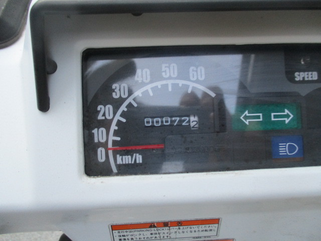 ☆ジャイロⅩ(TD02)4スト FI 走行72㌔実走行 1円売り切り 山梨から☆ _画像4