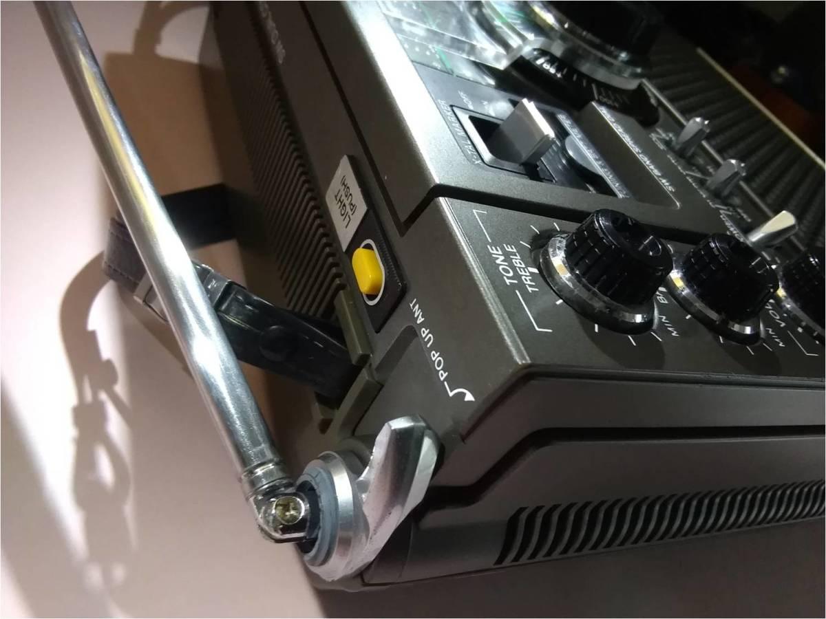 """昭和の名機""""復活""""ソニー ICF-5900 前期タイプ (ワイドFM対応、レストア美品)_画像3"""