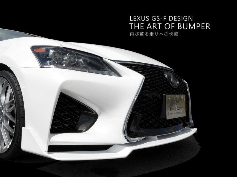 Ver2 10系 前期 を 後期 仕様 純正部品使用 GS F エフスポーツ LEXUS フロントバンパー レクサス エアロ バンパー CONSEGS_Lip別売出品金額