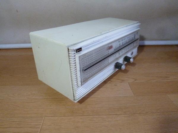No.163 ■真空管式ラジオ 日立 S-550 ジャンク_画像3