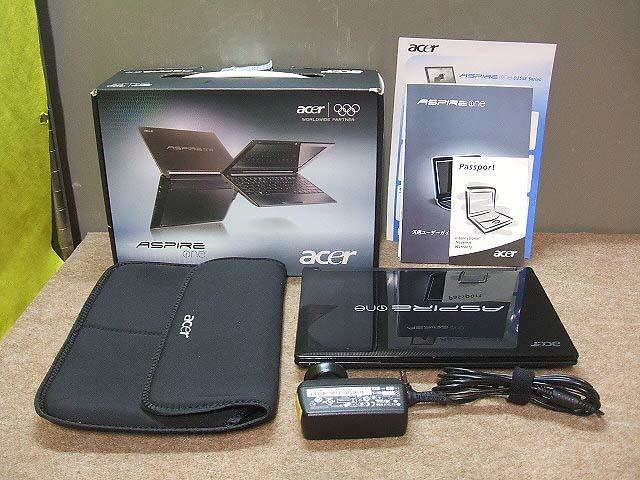 【ネットブック】acer Aspire one D255E Windows10 ACアダプタ付