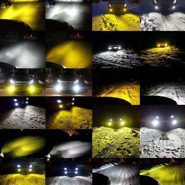 トヨタ◆保証 フォグランプ ツインLED 2色 3000k 6000k HB4(9006)◆ハイエース H22.7~H24.4 TRH200系 専用_画像2