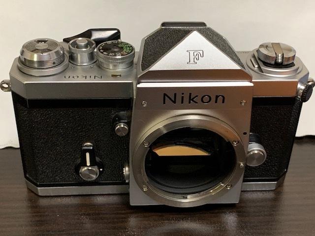 ニコン Nikon New F シルバーボディ