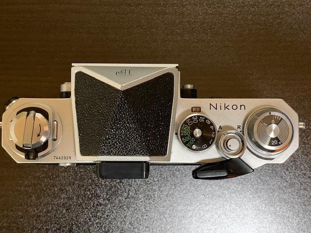 ニコン Nikon New F シルバーボディ_画像2