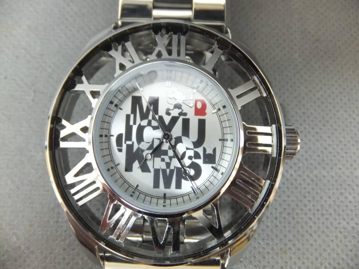 電池切れ 綺麗!ディズニー ミッキーマウス 腕時計! SEGA プレミアムレリーフリストウォッチ !! Disneyシルバー セガ プライズ  _画像5