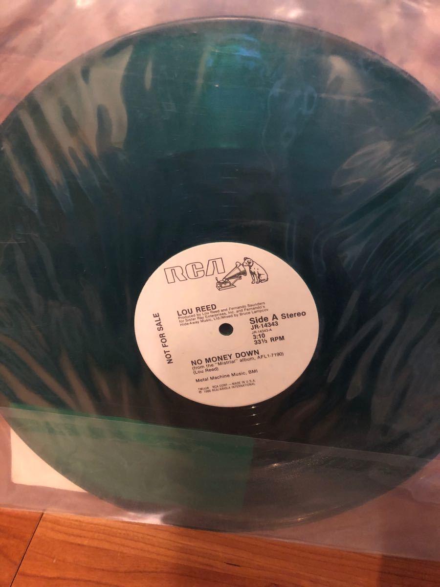 レコード★LOU REEDのNO MONEY DOWN★ルー・リード、VELVET UNDERGROUND、ヴェルヴェット・アンダーグラウンド&ニコ_画像2