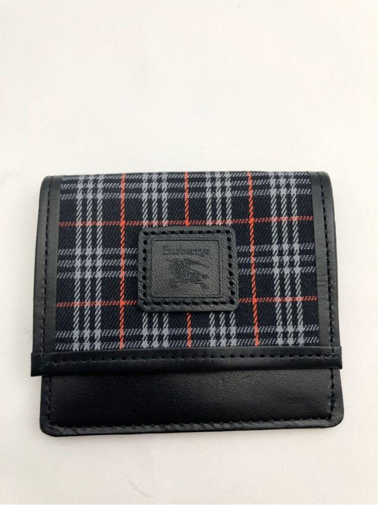 30837da0a651 代購代標第一品牌- 樂淘letao - バーバリーコインケースネイビー未使用小銭入れ財布