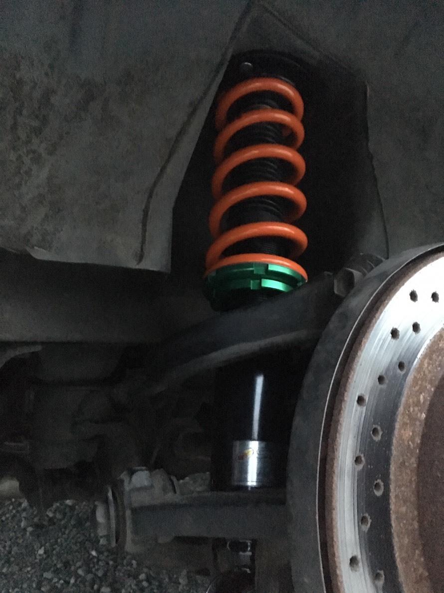 SHORINオリジナル車高調(スペリオリティーダンパー) 日産 S13シルビア用 F:8k R:6kg 自由長:200 ID:Φ65_画像8