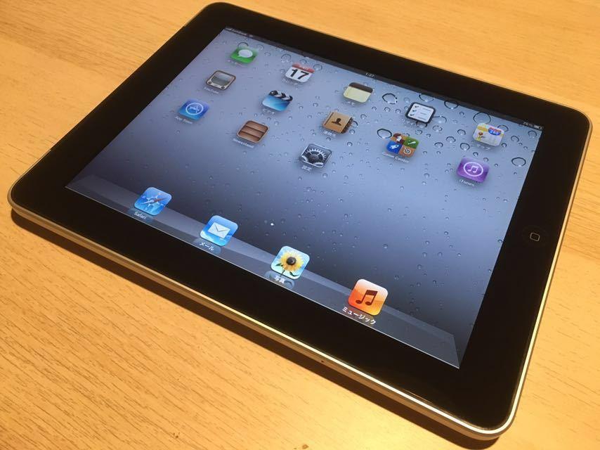 【送料無料】simフリー 初代iPad Wi-Fi+3G 64GB MC947C