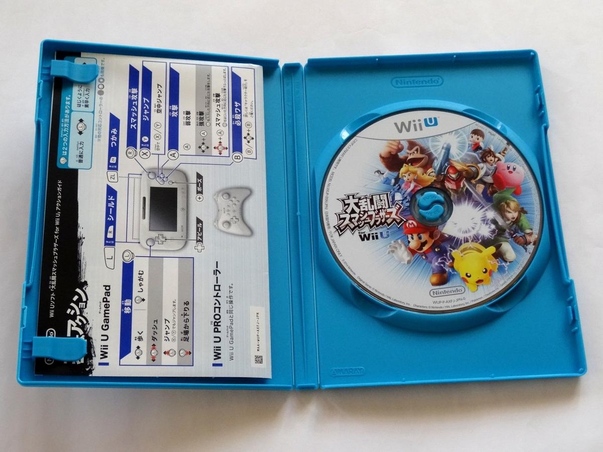 Wii U 大乱闘スマッシュブラザーズ スマブラ 任天堂 中古