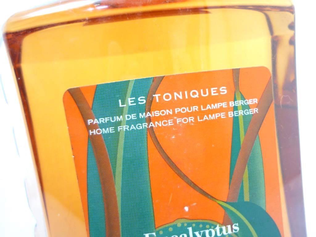 未開封 ランプベルジェ LAMPE BERGER Paris ユーカリ 犬加利 アロマオイル 1L パフュームオイル アロマランプ用 フランス Eucalyptus _画像4