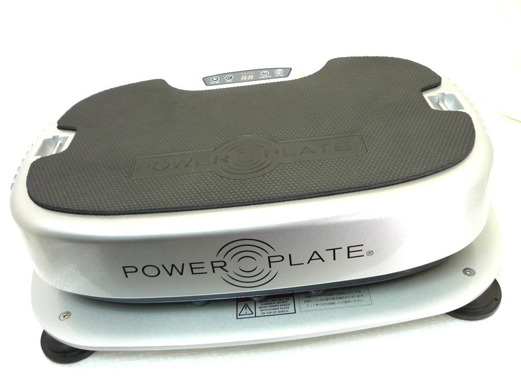 パーソナルパワープレート Personal Power Plate シルバー トレーニング ストレッチ マッサージ 取説バッグ 3次元ハーモニック振動 2回使用_画像5