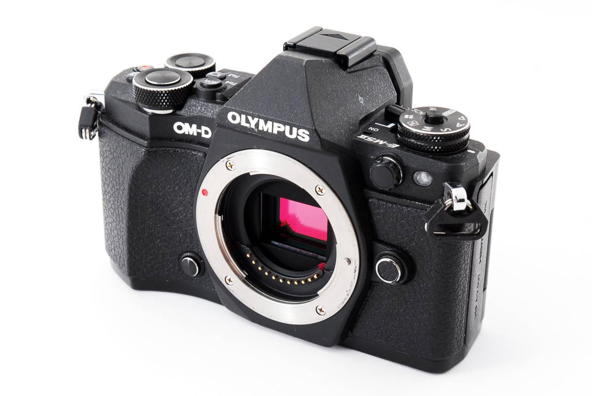 ▲▽付属品一式 OLYMPUS OM-D E-M5 Mark II ボディ ブラック△▼_画像3