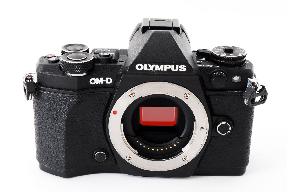 ▲▽付属品一式 OLYMPUS OM-D E-M5 Mark II ボディ ブラック△▼_画像4