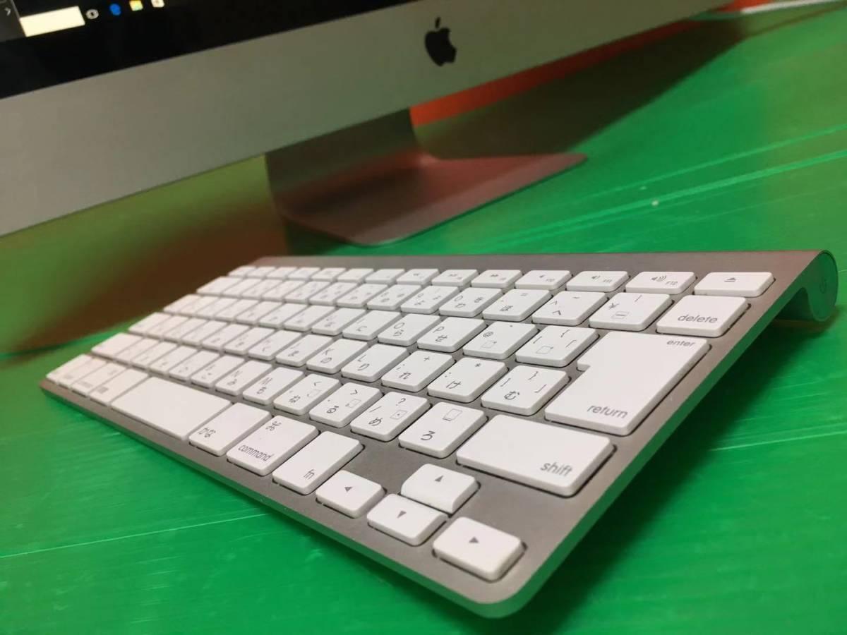【Windows7/10同時搭◆動作良好】iMac (27-inch,Mid2010) 8GB/1TB Corei3 3.2MHz Office2016 キーボード周辺機器付き あんしん即日匿名配送_画像9