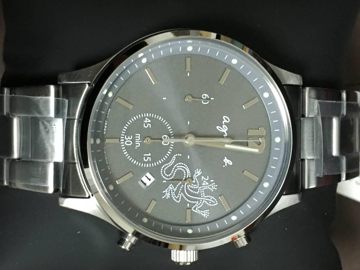 b4851753f8f9 代購代標第一品牌- 樂淘letao - アニエスベーagnesb クロノグラフFBRD967 メンズ腕時計ソーラー新品保証書タグ付き