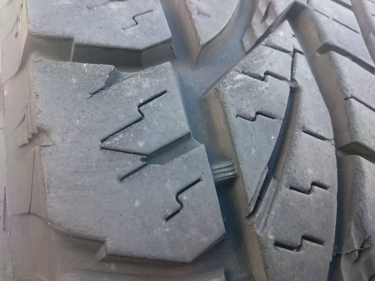 ランクル プラド ジムニー ジープ オールテレーンタイヤ ブリヂストン デューラーA/T 694 32X11.50R15 2015年製 10mm 4本_画像6