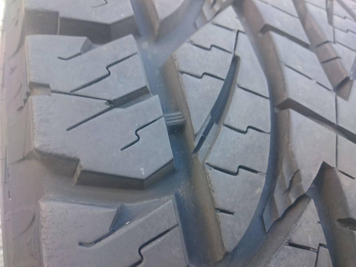 ランクル プラド ジムニー ジープ オールテレーンタイヤ ブリヂストン デューラーA/T 694 32X11.50R15 2015年製 10mm 4本_画像7