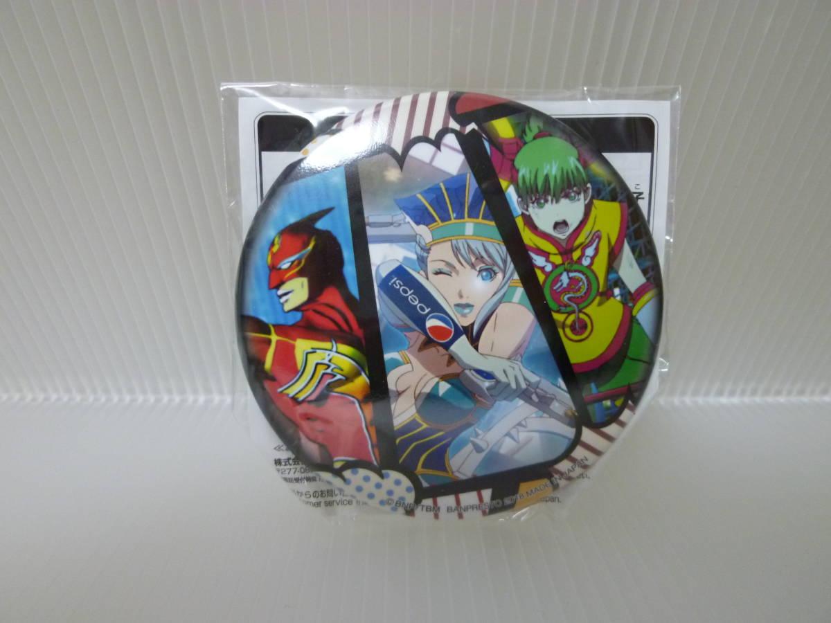 NEW♪劇場版TIGER & BUNNY -The Rising- バラエティ缶バッジ タイガーアンドバニー/スーパーヒーロー_画像1