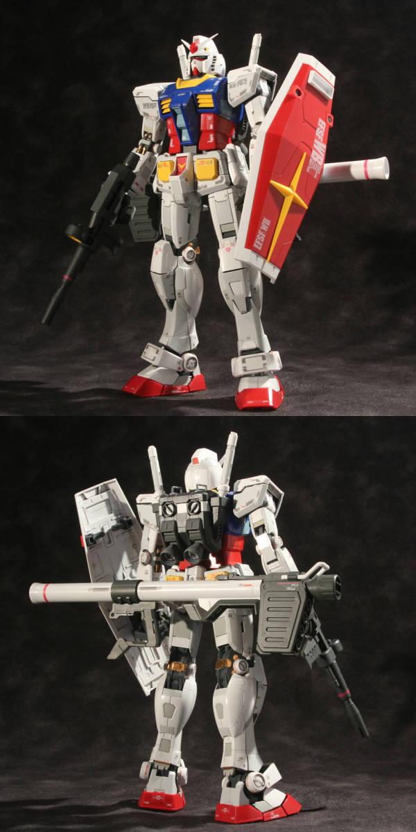 MG 1/100 RX-78-2 ガンダムVer.3.0 (機動戦士ガンダム) 塗装済完成品_画像3